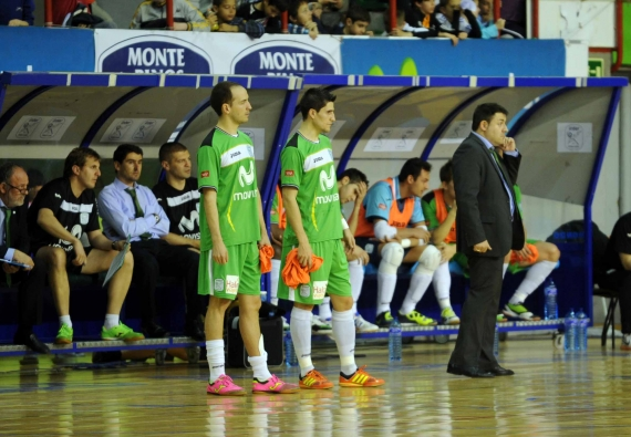 Chema Jiménez no llega a los playoffs con Inter Movistar