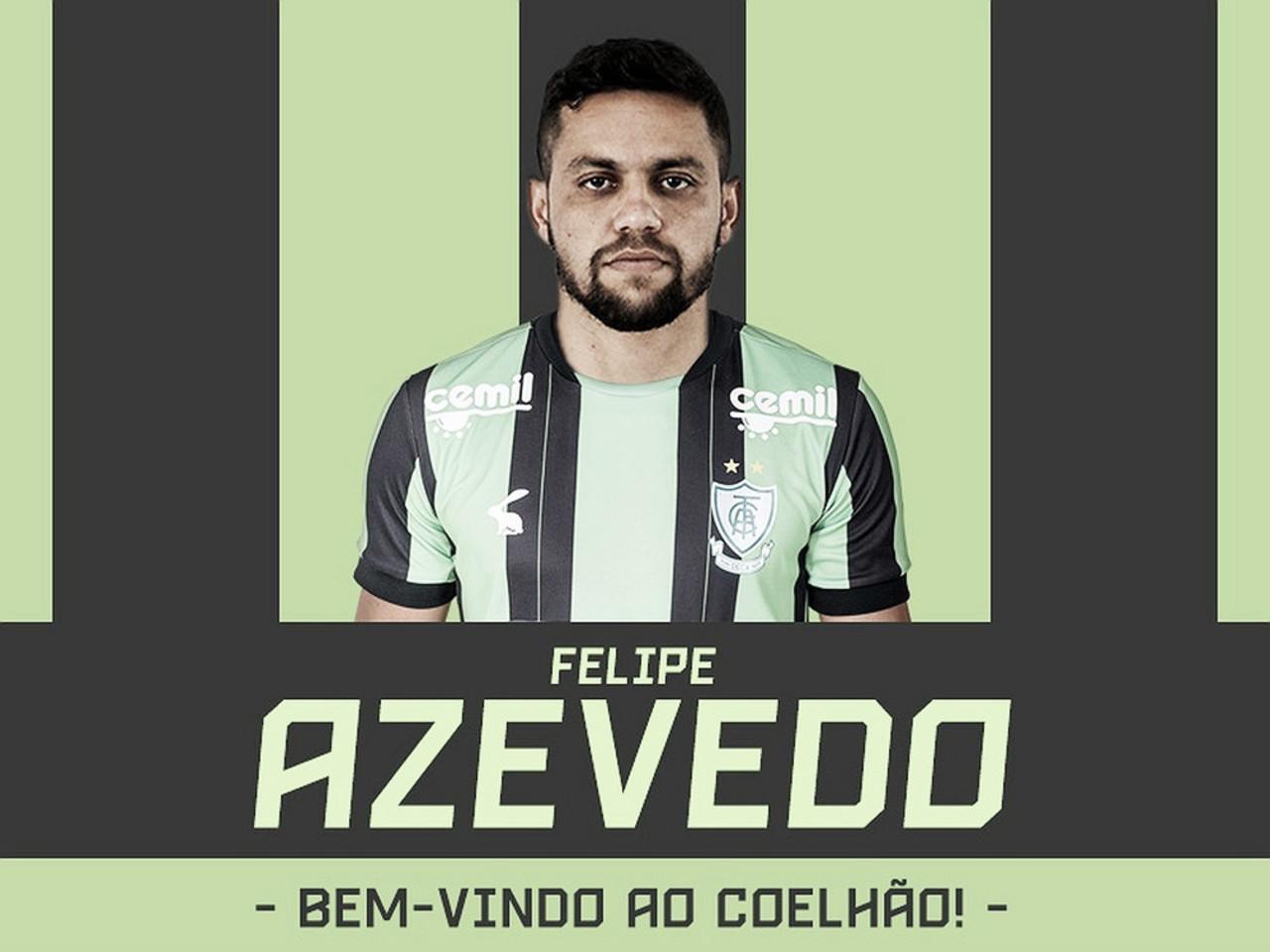 América-MG oficializa contratação do atacante Felipe Azevedo, ex-Ceará, por uma temporada