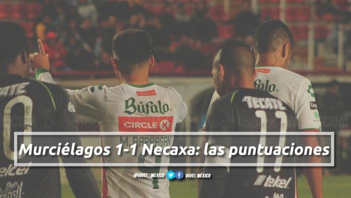 Murciélagos 1-1 Necaxa: puntuaciones de Necaxa en la jornada 3 de la Copa Corona MX Clausura 2018