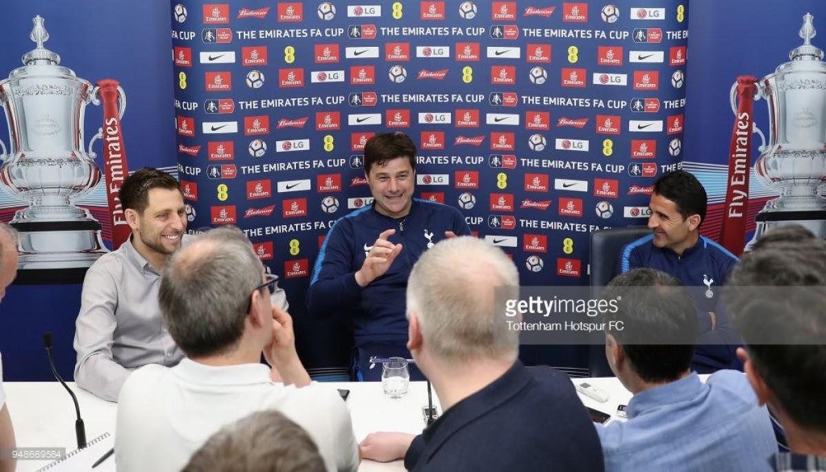 Pochettino on FA Cup glory, Toby Alderweireld's place in the squad and Hugo Lloris' errors
