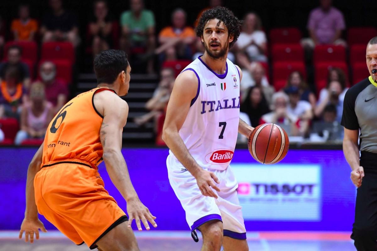Qualificazioni Cina 2019: Italia sconfitta in Olanda (81-66)