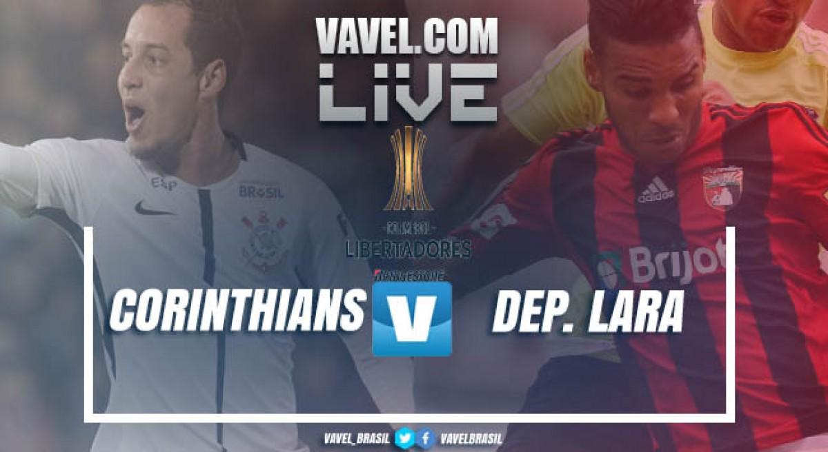 Resultado de imagem para Corinthians X Deportivo Lara - Libertadores