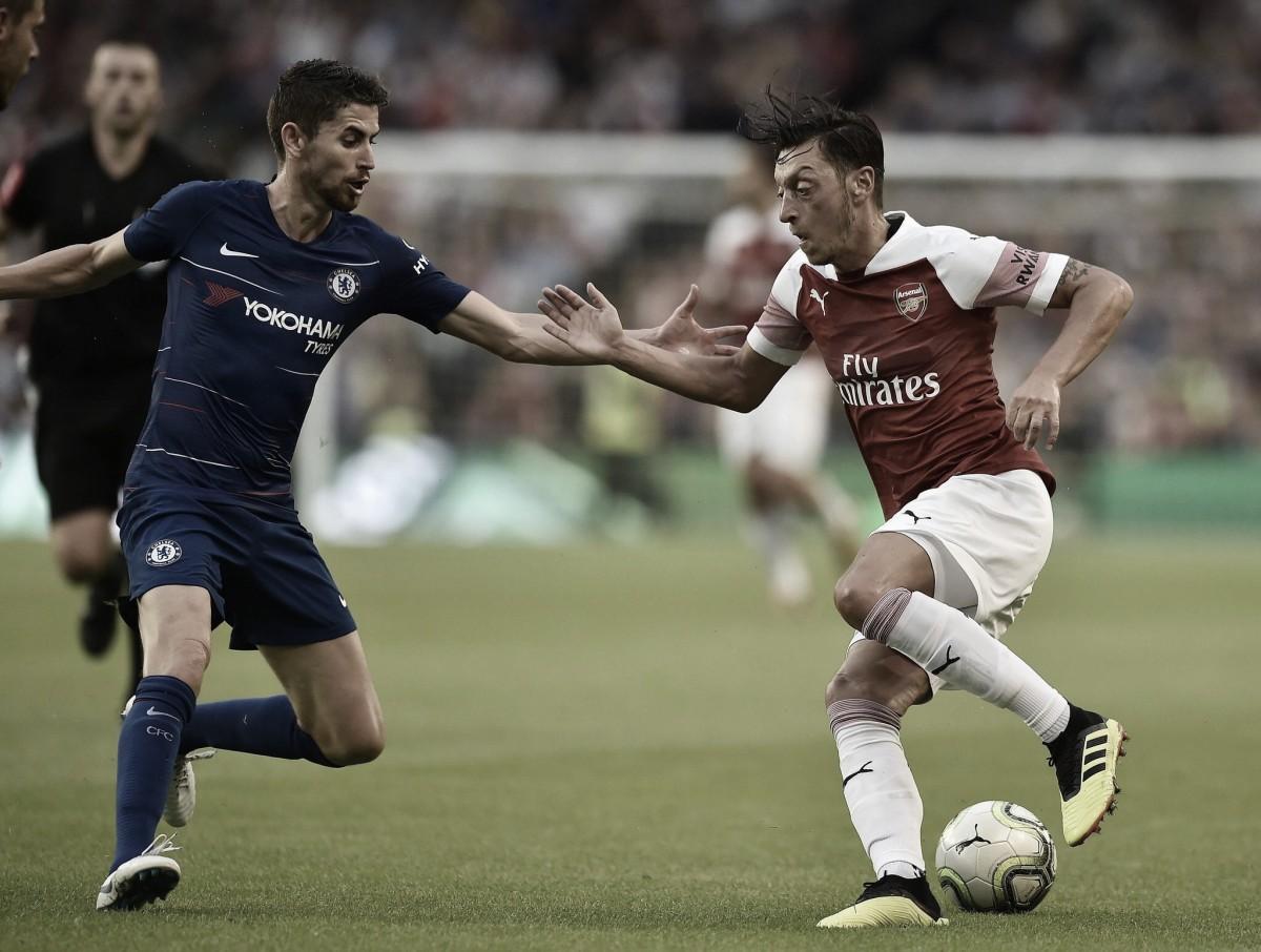 Nos pênaltis, Arsenal se despede da Champions Cup com vitória sobre Chelsea