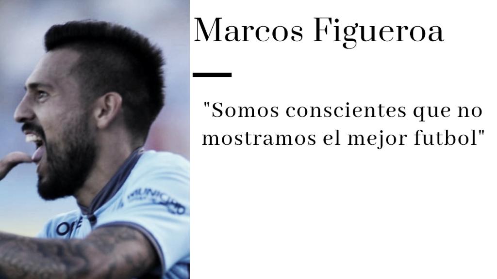"""Marcos Figueroa: """"Si tenemos una situación de gol no podemos fallar"""""""