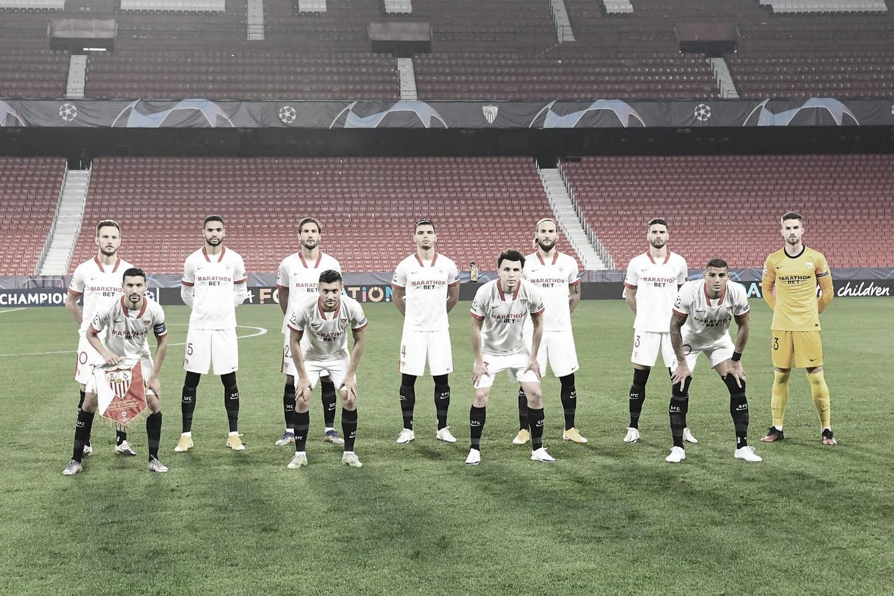 Once del Sevilla FC ante el Chelsea FC | Foto: Sevilla FC (twitter)