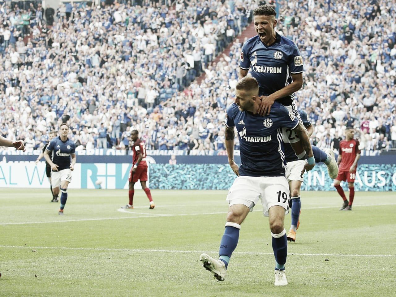 Resultado final Schalke 04 x Eintracht Frankfurt pela Bundesliga (1-2)
