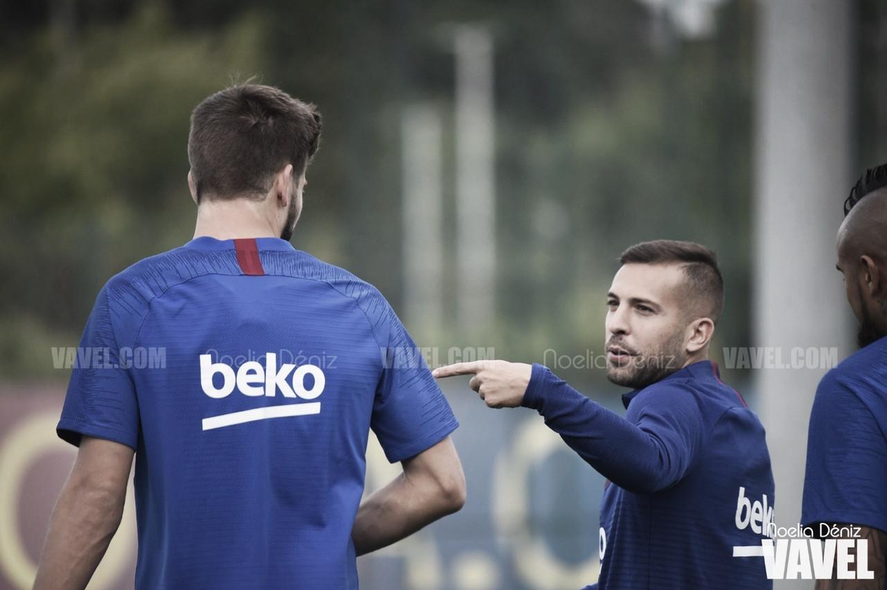 El Fútbol Club Barcelona se entrena sin Ansu Fati y Leo Messi