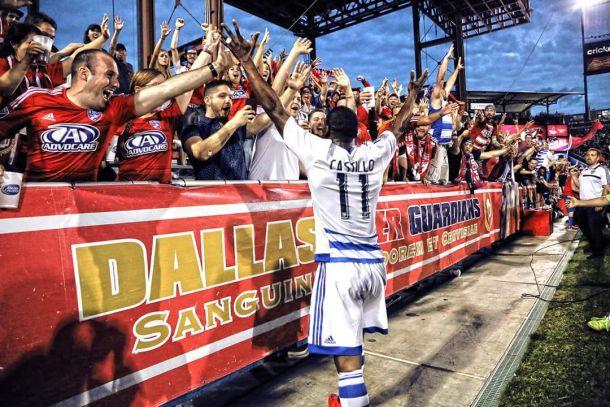FC Dallas Forward Fabian Castillo Named MLS Player of the Week
