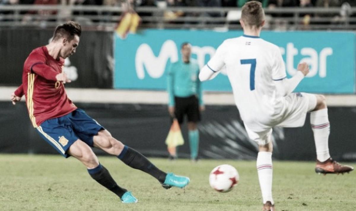 Destacado fin de semana de los jugadores de la Selección Española Sub-21