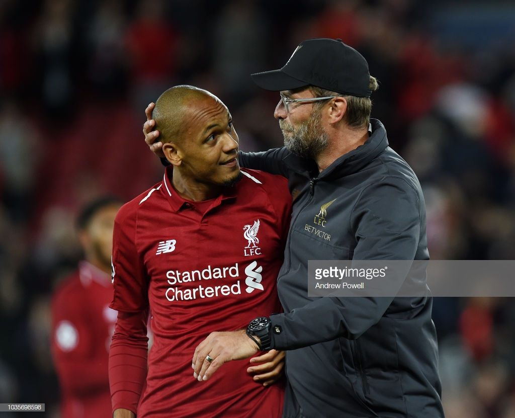 Fabinho is 'adapting' and is ready to fight back into starting eleven