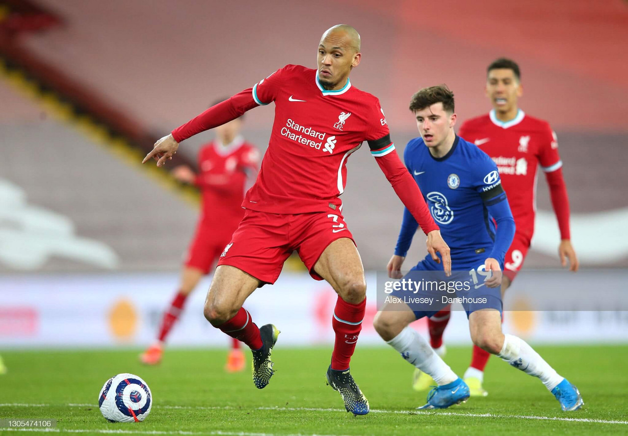 Fabinho - the engine within Liverpool's mechanism