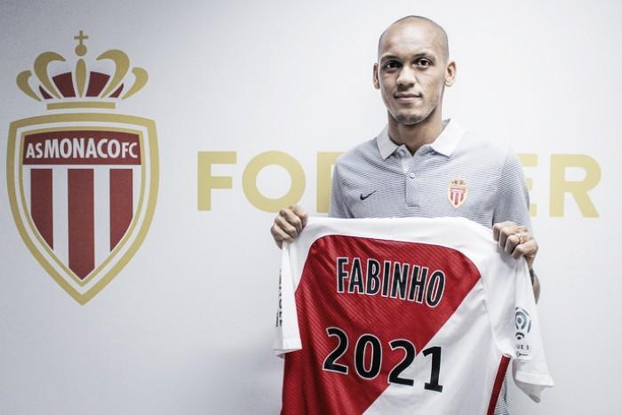 Após ser especulado no Manchester United, Fabinho renova com o Monaco até 2021