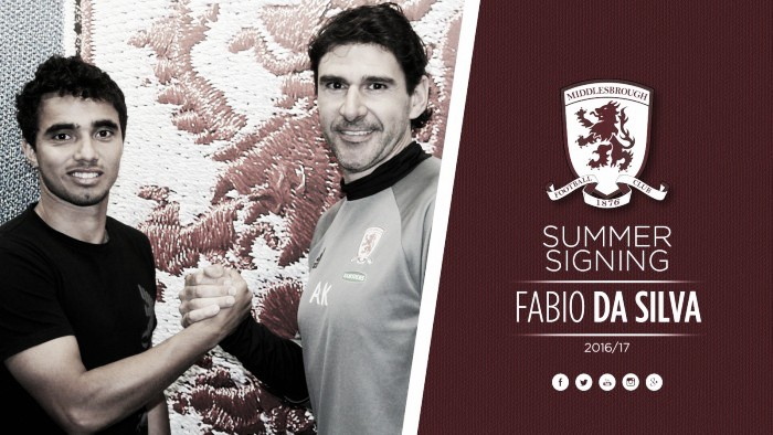 Middlesbrough sign Fabio