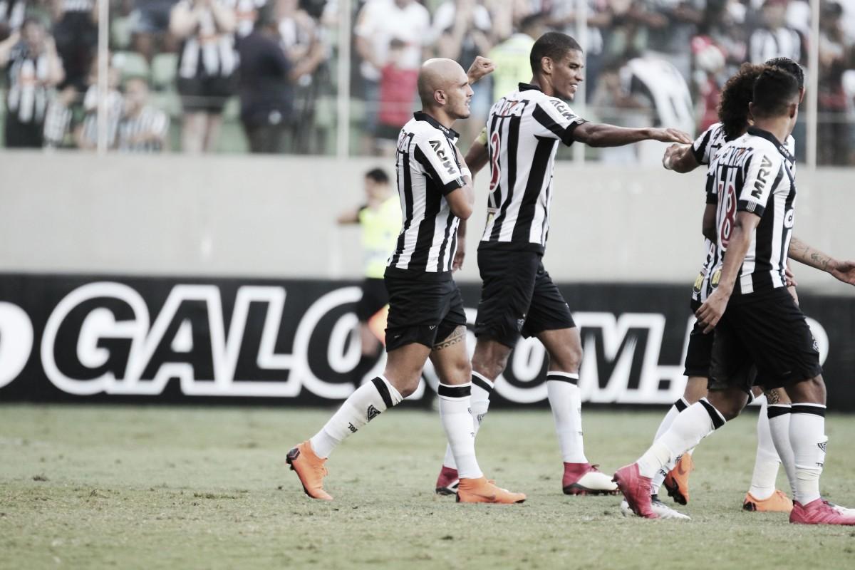Com gol de Fábio Santos, Atlético-MG bate URT e se classifica para a semifinal do Mineiro