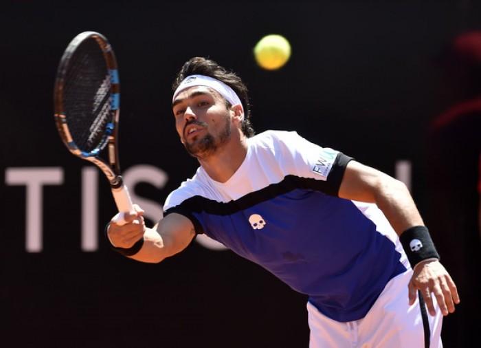 ATP Roma 2017 - Derby a Fognini, sorpresa Isner