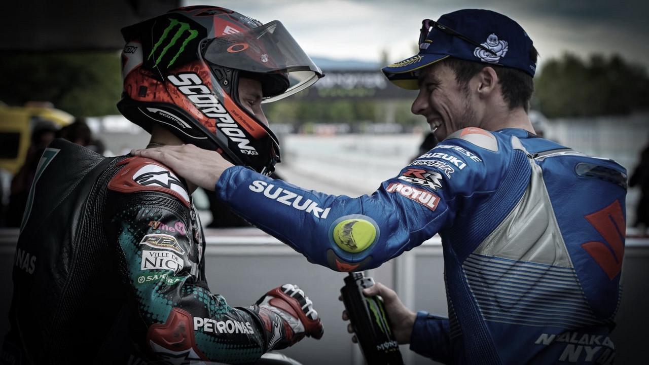 Mir y Quartararo, cara y cruz en el Gran Premio de Aragón