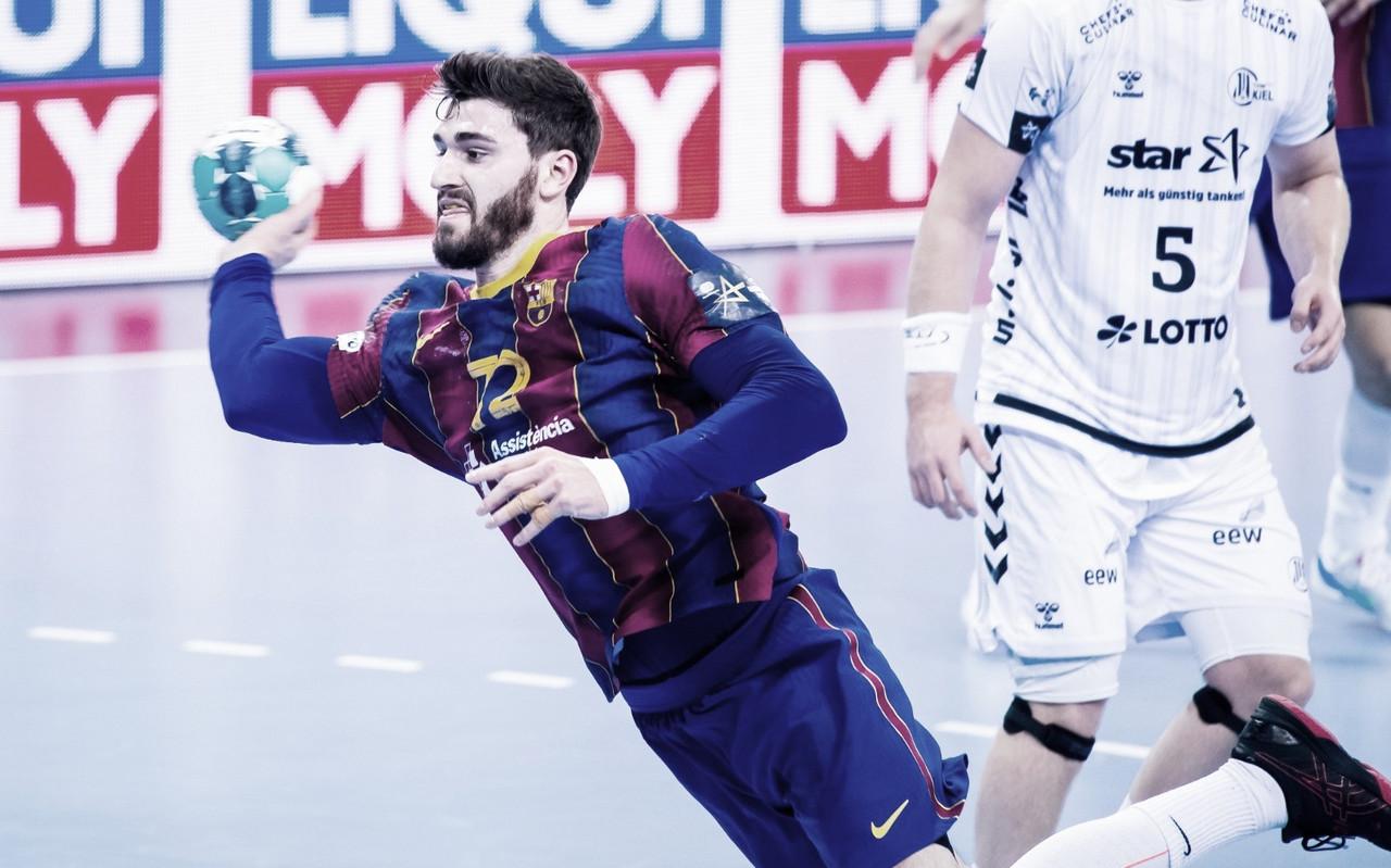 El Barça se impone al Kiel en una victoria sufrida