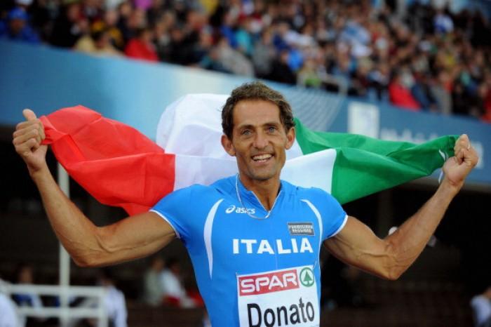 Il miracolo di Fabrizio Donato: argento e record mondiale M40