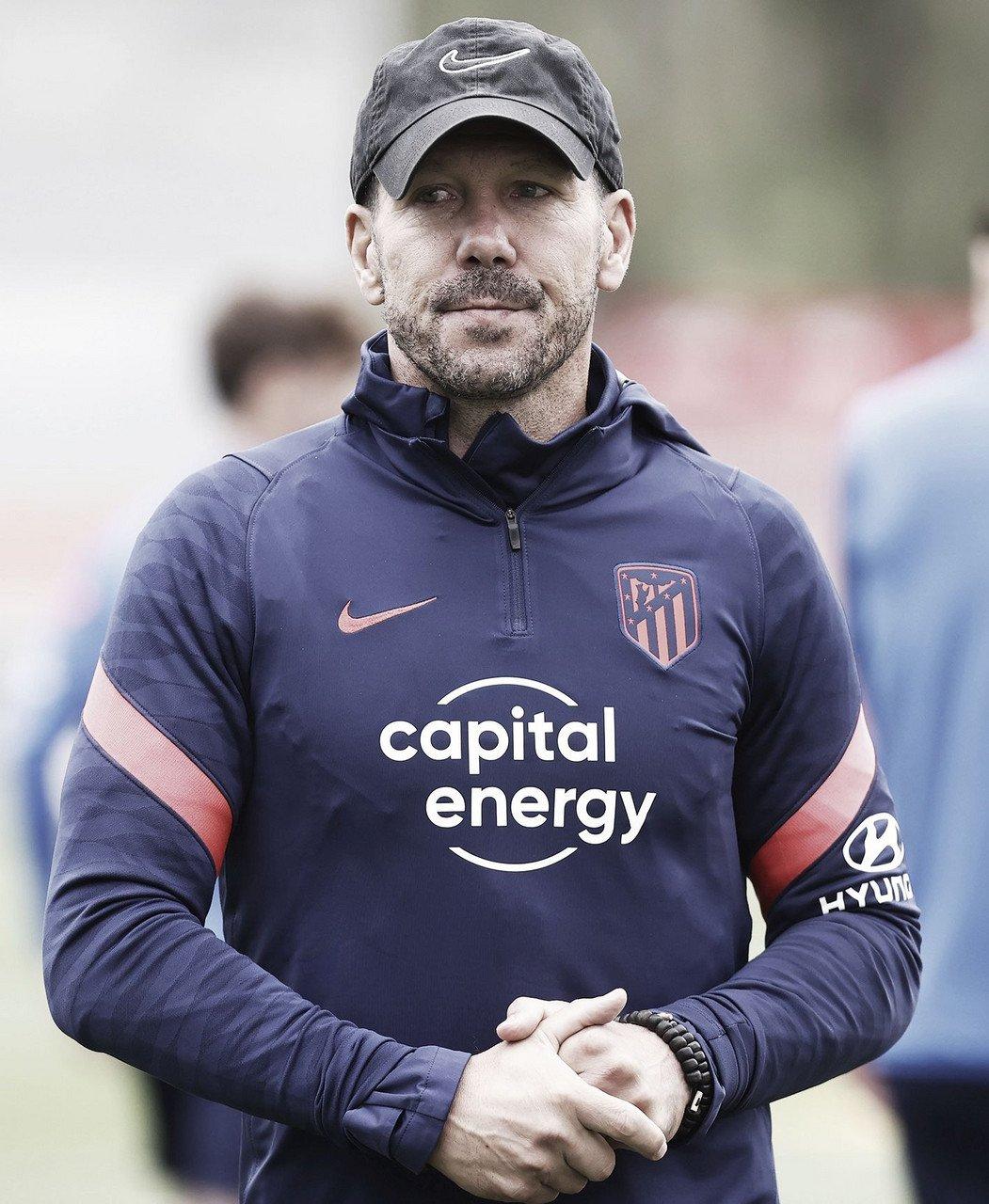"""Simeone: """"Siempre espero más de mis futbolistas, es la única forma de crecer"""""""