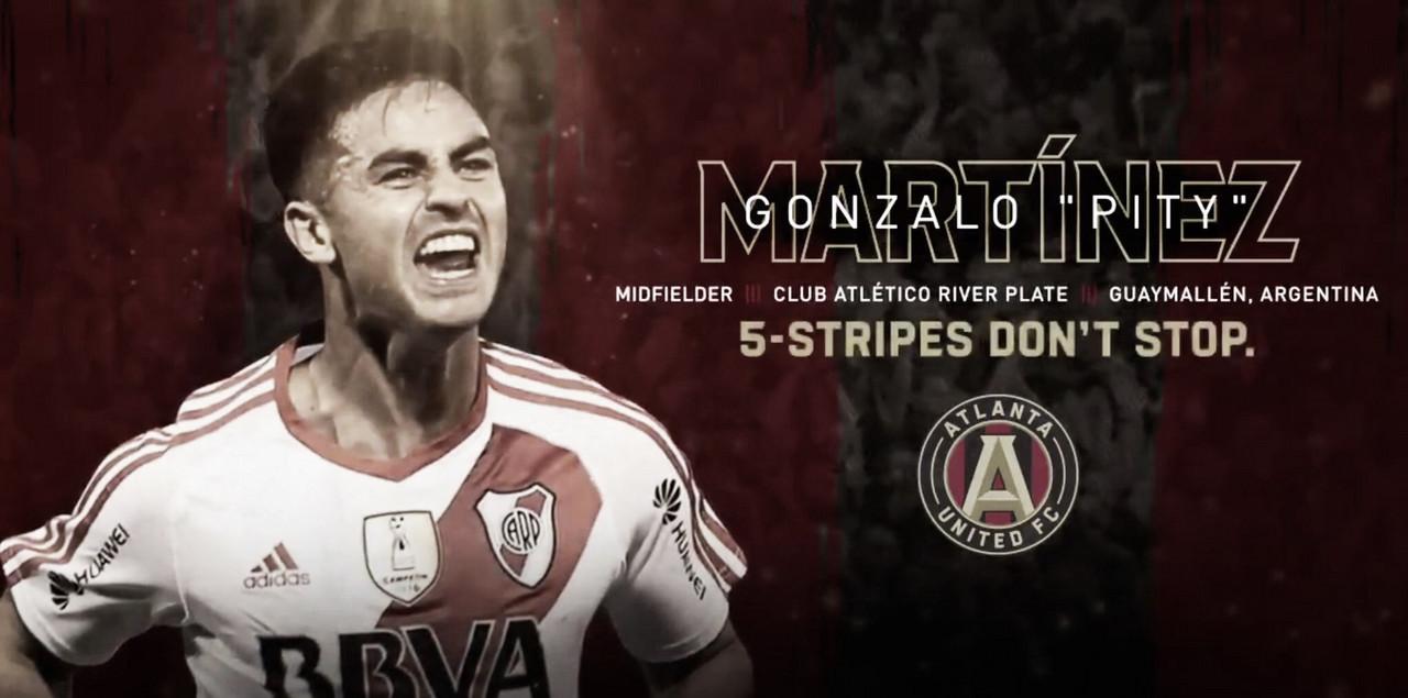'Pity' Martínez refuerza a Atlanta United