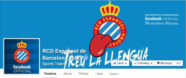 El Espanyol es el 11º equipo de la liga más seguido en la red