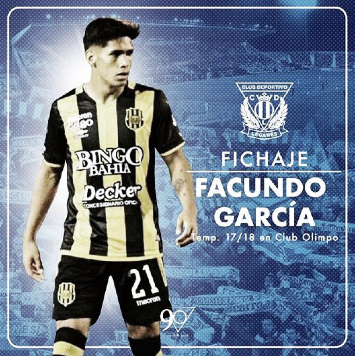 Facundo García, un nuevo refuerzo