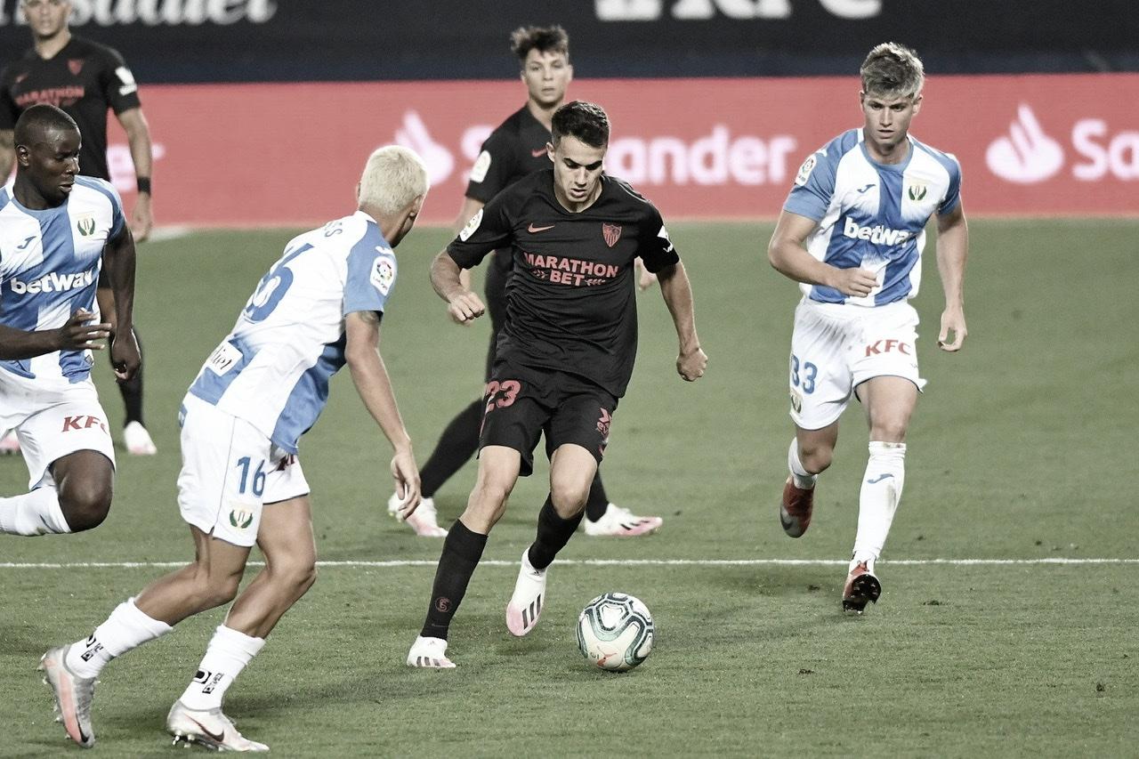 El Sevilla se rehace ante un prácticamente descendido Leganés