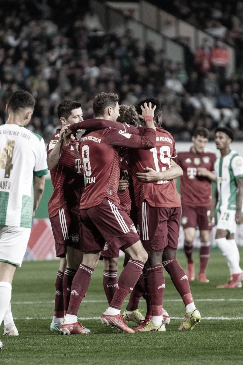 Triunfo del Bayern ante el Greuther Fürth