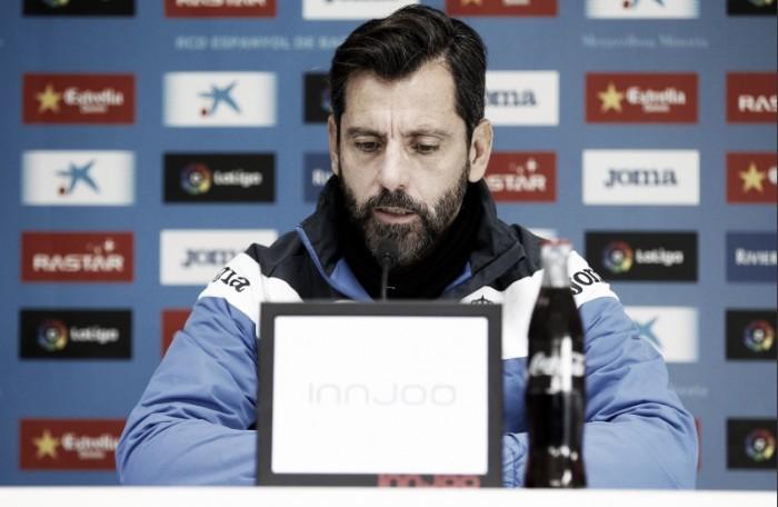 """Quique Sánchez Flores: """"Debemos pensar que son 180 minutos"""""""