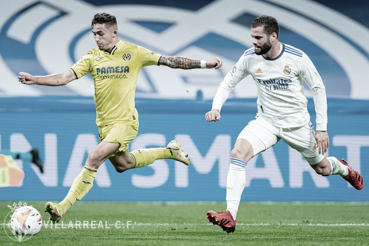 Un gran Villarreal empata sin goles en el Bernabéu