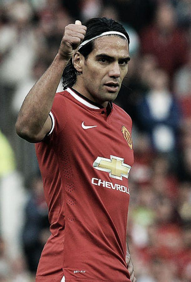 Falcao García y su continuidad en el Manchester United