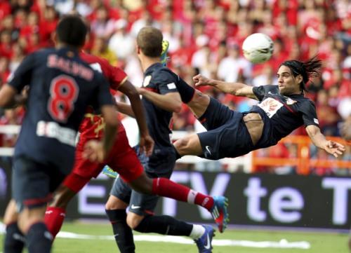 Falcao desvela sus cinco goles favoritos con el Atlético de Madrid