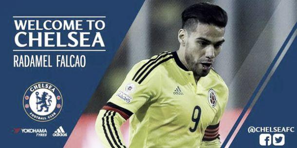 De Manchester a Londres: Falcao emigra al Chelsea