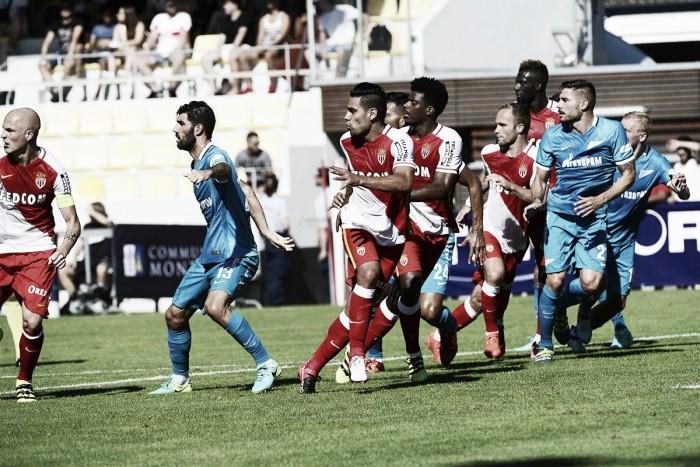Em último amistoso de pré-temporada, Monaco sofre virada do Zenit