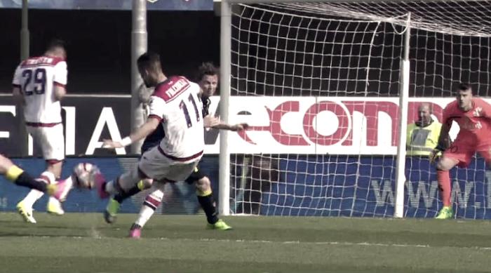 Serie A - Falcinelli fa sognare il Crotone: Chievo battuto a domicilio (1-2)