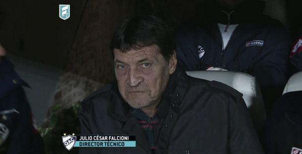 "Julio César Falcioni: ""Sólo nos faltó el gol"""