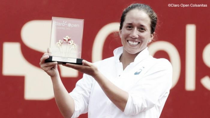 WTA Bogota: Irina Falconi claims Claro Open Colsanitas title in three set battle over Silvia Soler-Espinosa