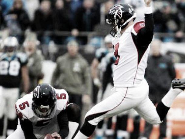 Falcons sacó un triunfo agónico ante Panthers