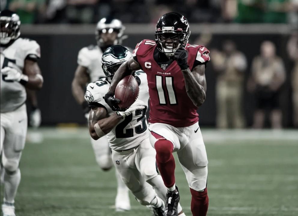 Los Falcons volaron más alto que los Eagles