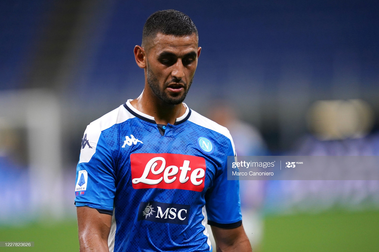 Would Ghoulam be a good replacement for absent Jonny