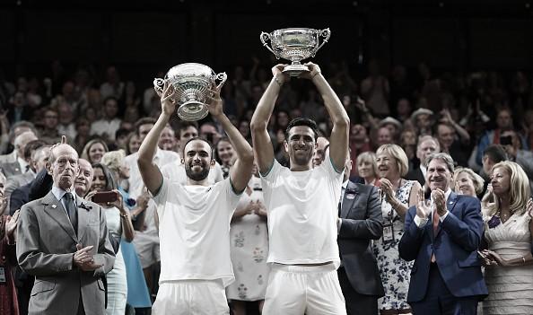 Cabal y Farah hacen historia conquistando Wimbledon y el número uno del mundo