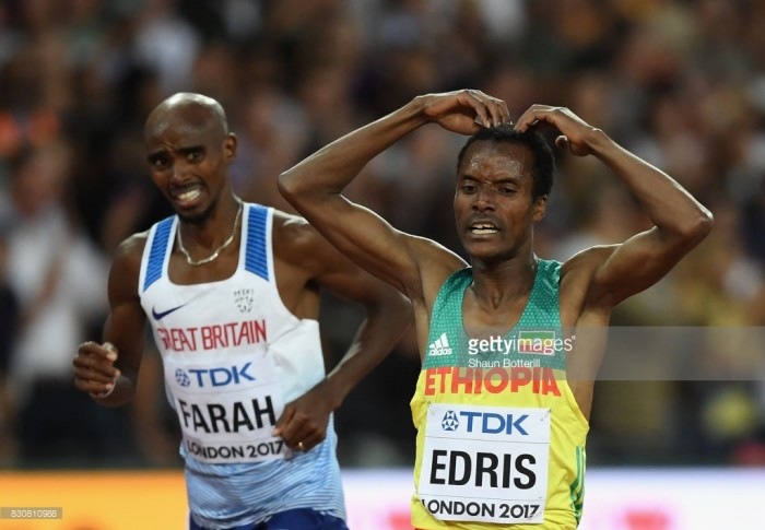 Mo Farah Fails to Win 5000m Gold Medal at IAAF World Championships