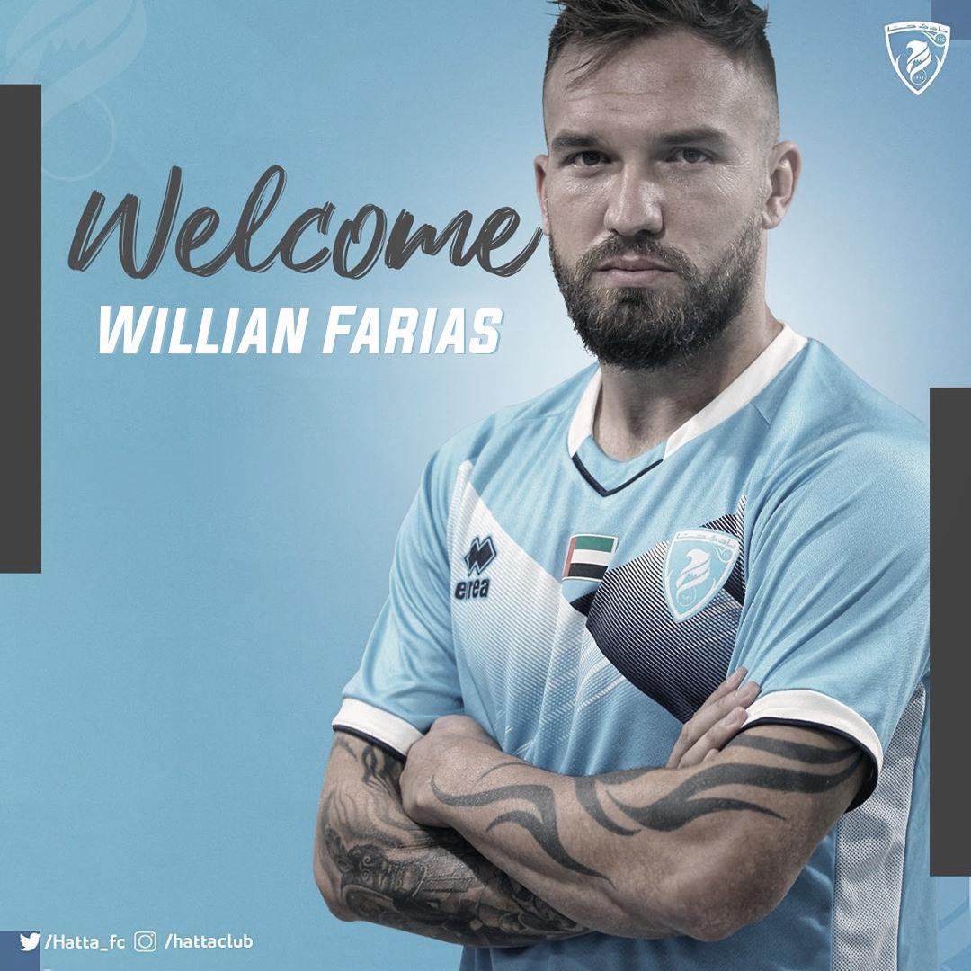Após acertar transferência ao futebol árabe, Willian Farias comenta expectativas no Hatta Club
