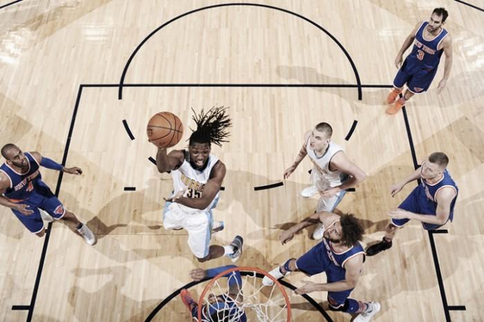 Los Knicks no rompen su maldición con el Pepsi Center