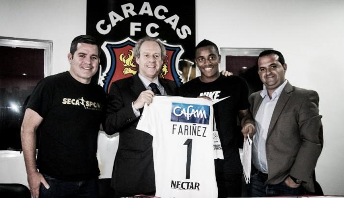 Wuilker Faríñez de la Selección Venezuela a Millonarios