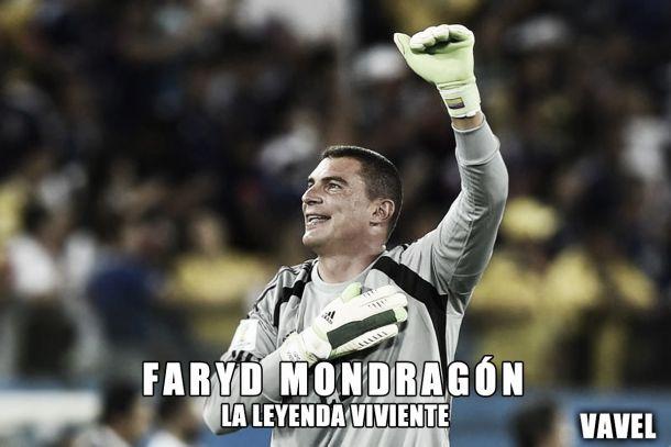 Faryd Mondragon: la leyenda viviente