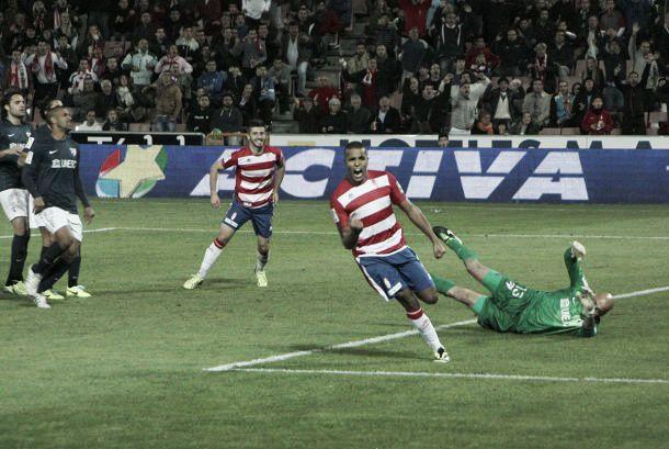 Granada - Málaga: primer 'match-ball' en Los Cármenes