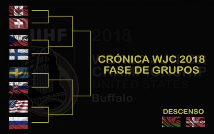 Crónica WJC 2018: fase de grupos
