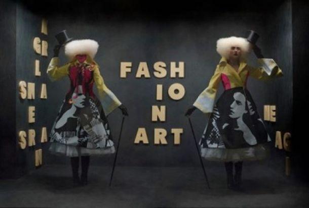 Cuando el arte y la moda se funden