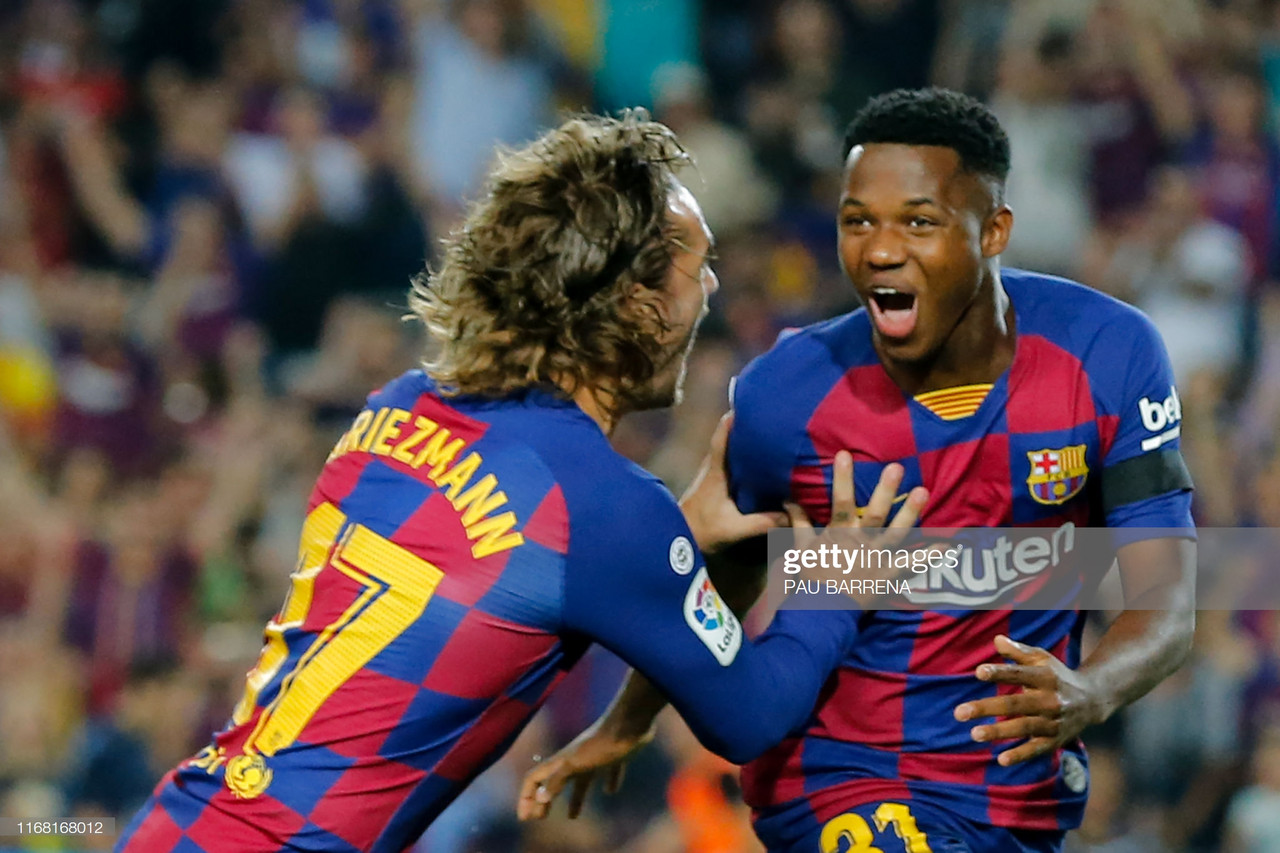 Barcelona 5-2 Valencia: Ansu Fati makes history as Barcelona defeat Valencia
